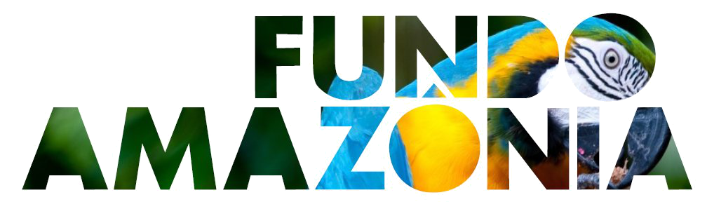 Logotipo do programa Fundo Amazônia.